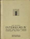 Interieurs IV… publiées sous la direction et avec une introduction de Léon Moussinac
