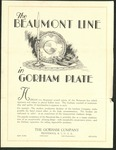 The Beaumont Line by Gorham Manufacturing Company, Special Collections, and Fleet Library