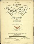 Gazette du bon ton: arts, modes et frivolités | 1921, No. 01 by Lucien Vogel and Marcel Astruc