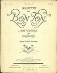 Gazette du bon ton: arts, modes et frivolités | 1921, No. 03 by Lucien Vogel and Marcel Astruc
