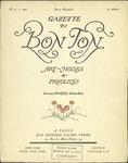 Gazette du bon ton: arts, modes et frivolités | 1921, No. 04 by Lucien Vogel and Marcel Astruc