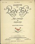 Gazette du bon ton: arts, modes et frivolités | 1921, No. 07 by Lucien Vogel and Marcel Astruc
