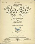 Gazette du bon ton: arts, modes et frivolités | 1921, No. 08 by Lucien Vogel and Marcel Astruc