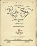 Gazette du bon ton: arts, modes et frivolités | 1922, No. 01 by Lucien Vogel and Marcel Astruc