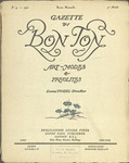 Gazette du bon ton: arts, modes et frivolités | 1922, No. 04 by Lucien Vogel and Marcel Astruc