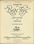 Gazette du bon ton: arts, modes et frivolités | 1922, No. 07 by Lucien Vogel and Marcel Astruc