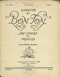 Gazette du bon ton: arts, modes et frivolités | 1922, No. 09 by Lucien Vogel and Marcel Astruc
