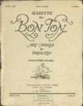Gazette du bon ton: arts, modes et frivolités | 1922, No. 10 by Lucien Vogel and Marcel Astruc