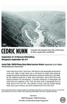 Cedric Nunn Announcement