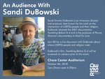 An Audience with Sandi DuBowski by Intercultural Student Engagement Office