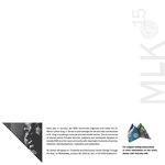 MLK 2015: Danny Glover foldable origami poster (back)
