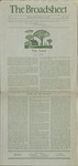 The Broadsheet March 1940 by Students of RISD
