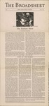 The Broadsheet April 1935 by Students of RISD