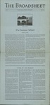 The Broadsheet May 1935 by Students of RISD
