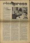 RISD press March 1, 1974 by Students of RISD