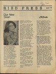 RISD press October 11, 1974 by Students of RISD