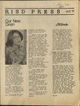 RISD press October 11, 1974