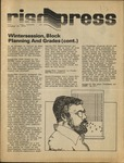 RISD press October 25, 1974 by Students of RISD