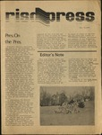 RISD press December 6, 1974 by Students of RISD