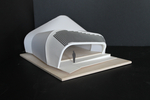 Solar Decathlon 2014: Techstyle Haus model 3 entrance