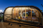 Solar Decathlon 2014: Techstyle Haus construction 10