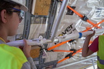 Solar Decathlon 2014: Techstyle Haus construction 11