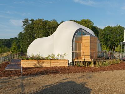 Solar Decathlon 2014: Techstyle Haus exterior 1