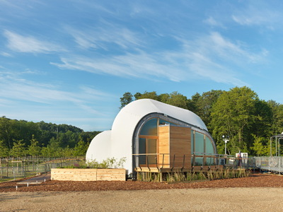 Solar Decathlon 2014: Techstyle Haus exterior 2