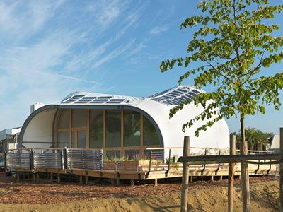 Solar Decathlon 2014: Techstyle Haus exterior 3