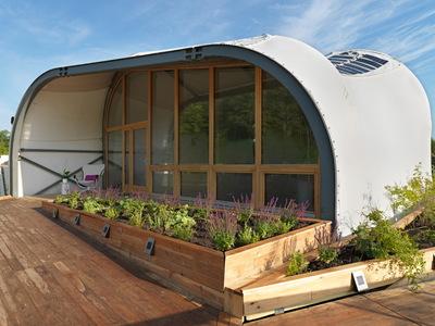 Solar Decathlon 2014: Techstyle Haus exterior 6