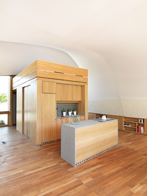 Solar Decathlon 2014: Techstyle Haus interior 5