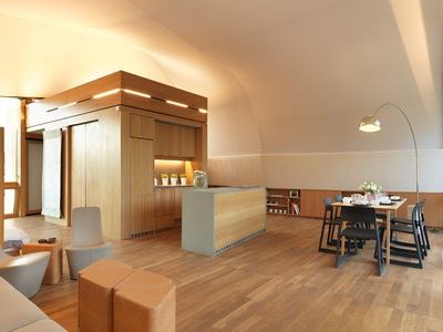 Solar Decathlon 2014: Techstyle Haus interior 7