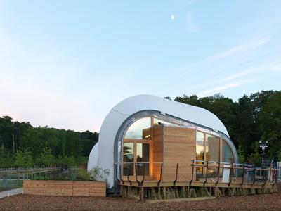 Solar Decathlon 2014: Techstyle Haus exterior 11