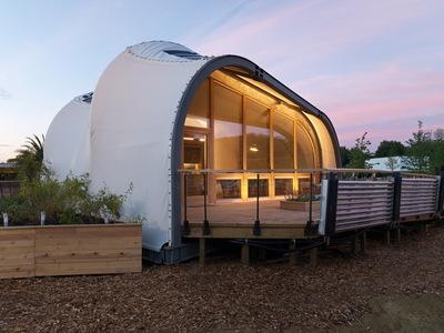 Solar Decathlon 2014: Techstyle Haus exterior 13
