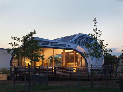 Solar Decathlon 2014: Techstyle Haus exterior 14