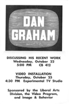 Dan Graham: Discussing His Recent Work, Video Installation by Robert Horvitz