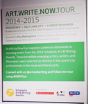 2014 Art.Write.Now.Tour by Campus Exhibitions