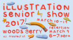 Illustration Senior Show 2017 by Campus Exhibtions and Illustration Department