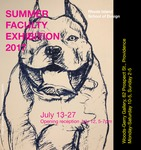 Summer Faculty Exhibition by Campus Exhibtions and Mark Moscone